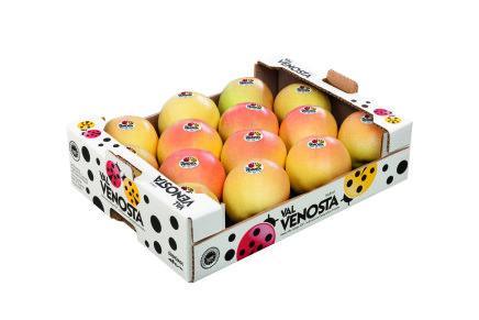 La mela Val Venosta lancia il suo nuovo marchio