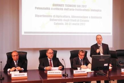 Ortofrutta biologica, il punto alle Giornate Tecniche di Catania